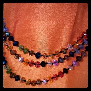 Joan Rivers Multi Colored Beaded Necklace
